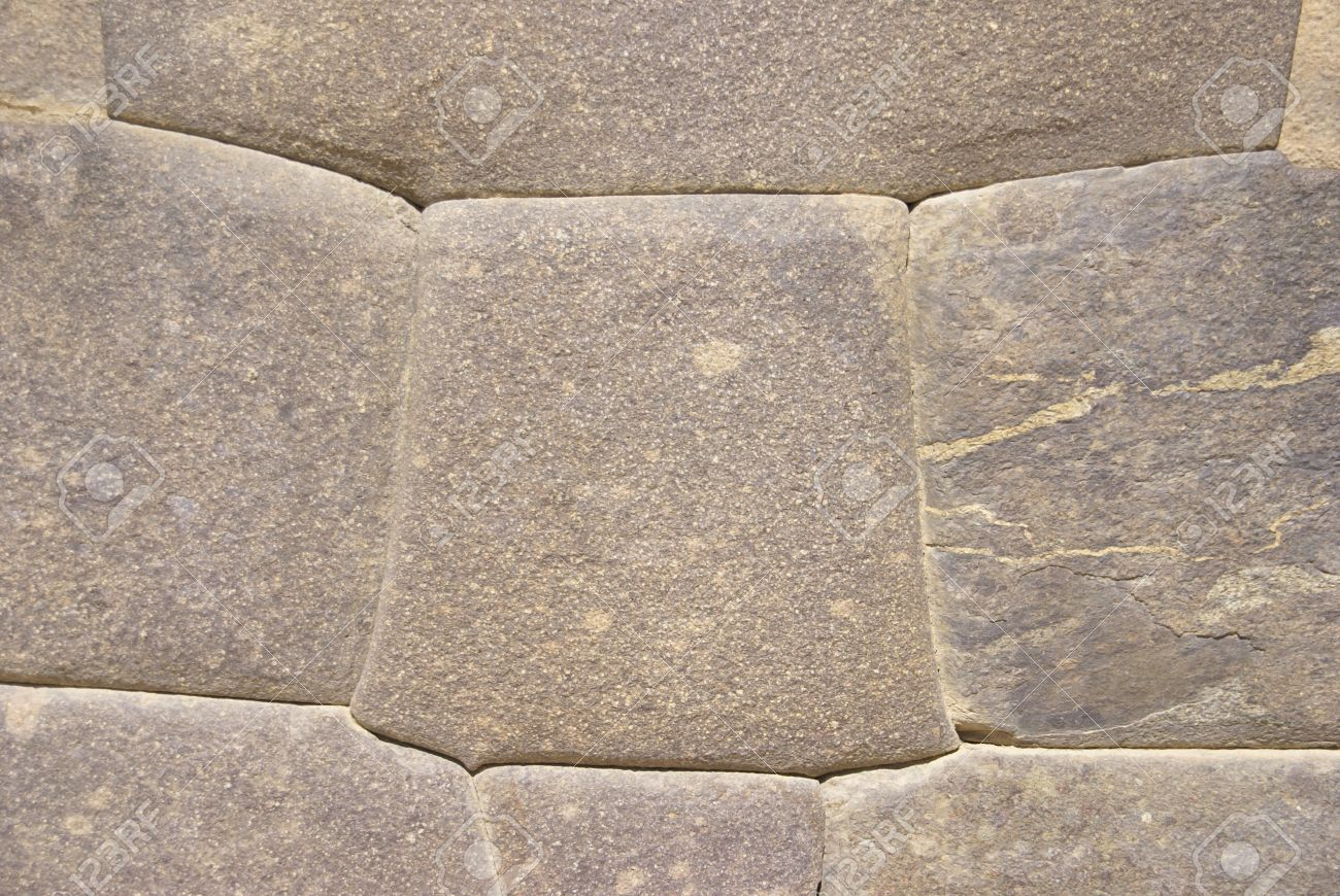 11518899-Detail-high-quality-of-Inca-stone-wall-Ollantaytambo-Peru-South-America--Stock-Photo