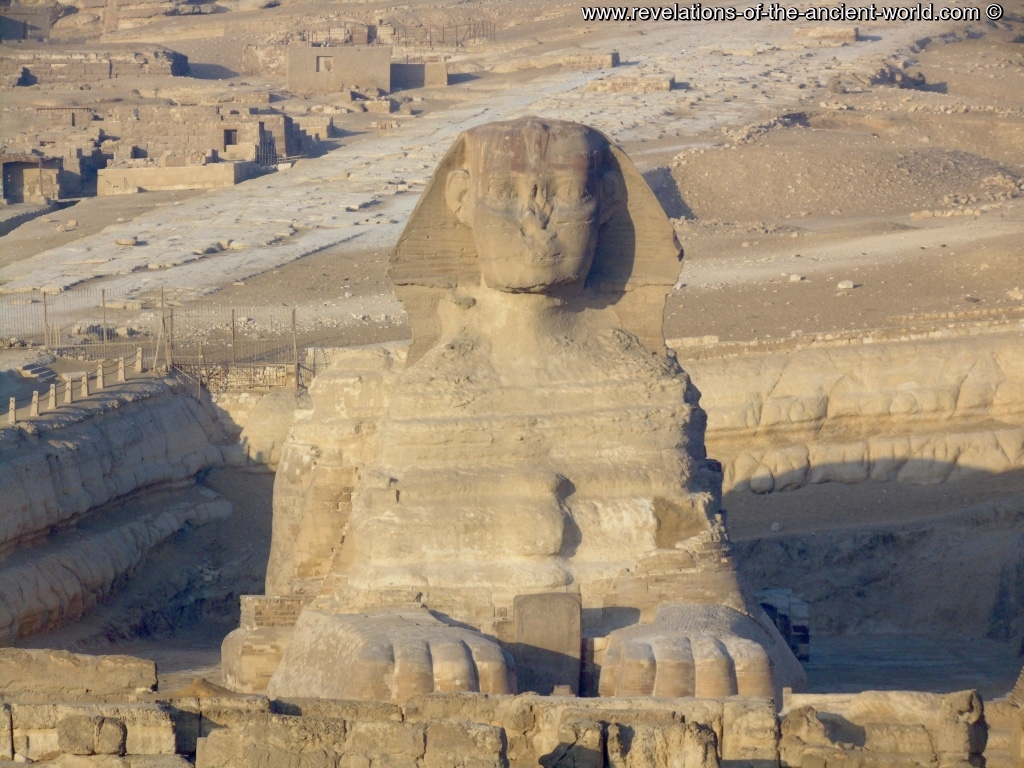 Sphinx face to face