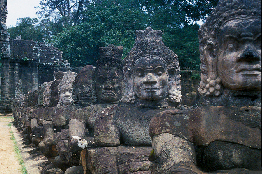 Angkor Thom - South Gate Demons