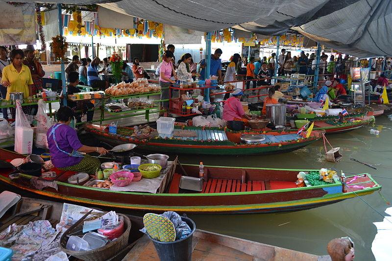 Ayutthaya_Thailand_Water_Market
