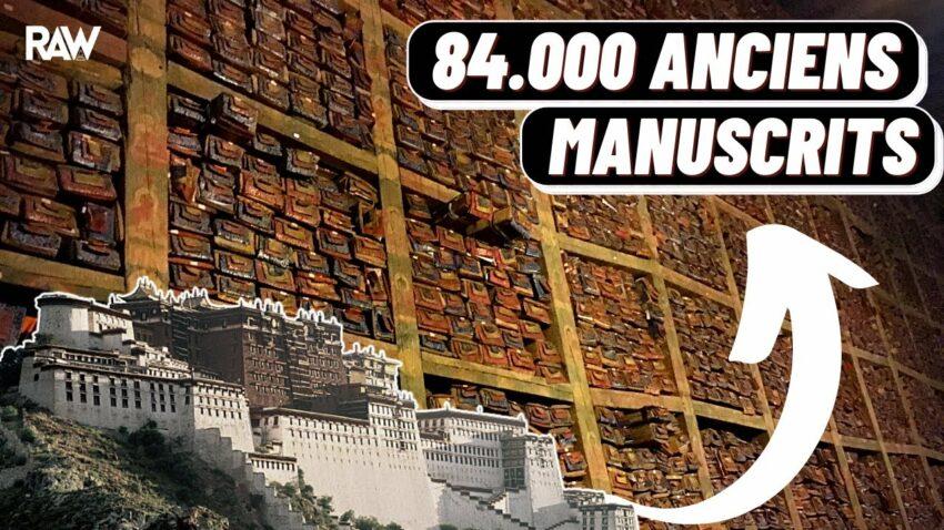Une Bibliothèque de 84.000 MANUSCRITS retrouvée au Tibet